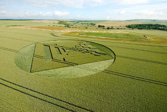 real crop circles � ufo sightings